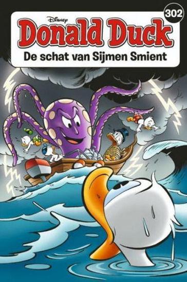 Afbeelding van Donald duck pocket #302 - Schat van sijmen smient (SANOMA, zachte kaft)