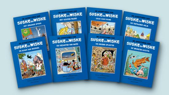 Afbeelding van Suske en wiske blauwe reeks - Suske en wiske blauwe reeks 1-8 humo (STANDAARD, harde kaft)