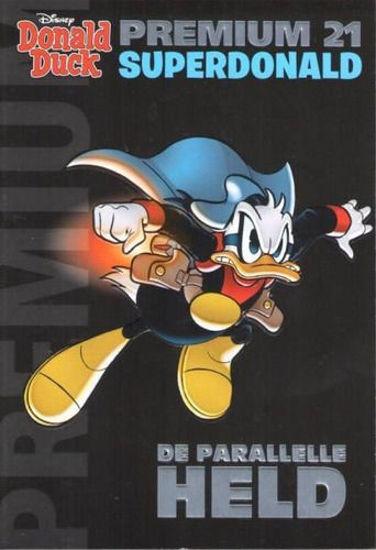 Afbeelding van Donald duck premium #21 - Paralelle held (SANOMA, zachte kaft)