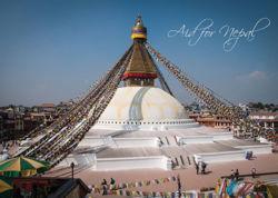 Afbeeldingen van Aid for nepal