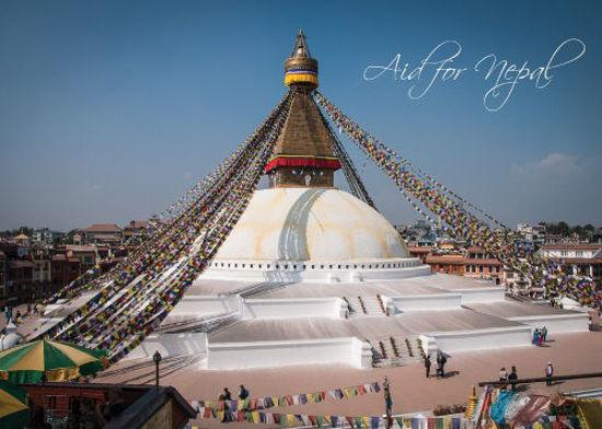 Afbeelding van Aid for nepal (BONTE, zachte kaft)