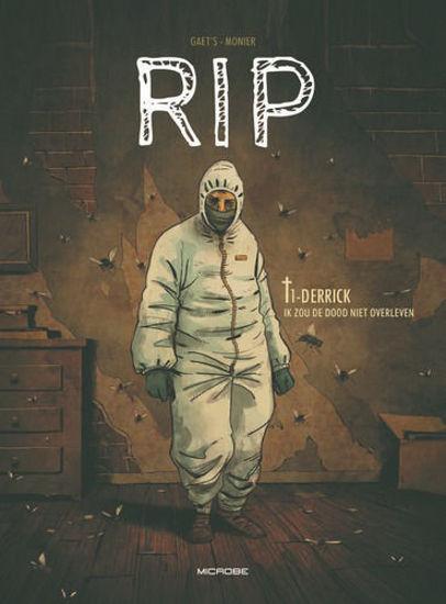 Afbeelding van Rip  #1 - Derrick - de dood zal ik niet overleven (MICROBE, harde kaft)