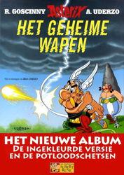 Afbeeldingen van Asterix - Geheime wapen luxe- actie 40 jaar de striep !! (ALBERT RENE, harde kaft)