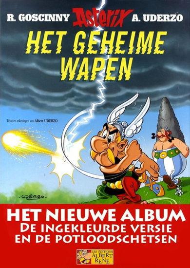 Afbeelding van Asterix - Geheime wapen luxe- actie 40 jaar de striep !! (ALBERT RENE, harde kaft)