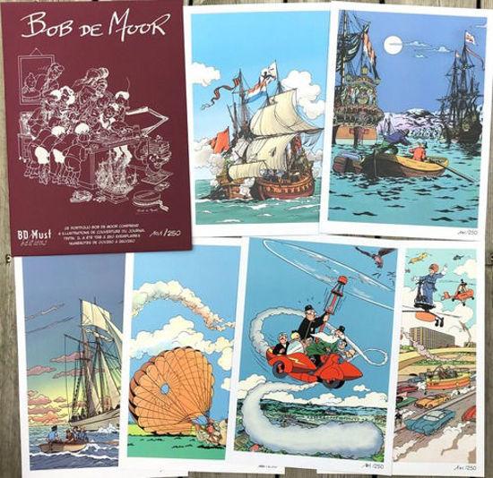 Afbeelding van Bob de moor collectorspack - Bob de moor portfolio (BD MUST, zachte kaft)