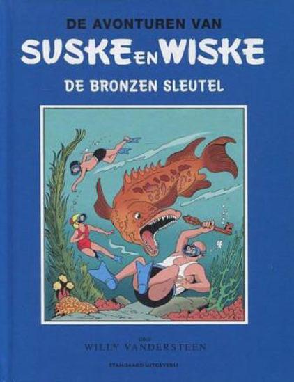 Afbeelding van Suske wiske blauwe reeks humo - De bronzen sleutel (STANDAARD, harde kaft)
