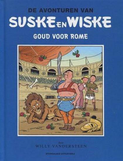 Afbeelding van Suske wiske blauwe reeks humo - Goud voor rome (STANDAARD, harde kaft)