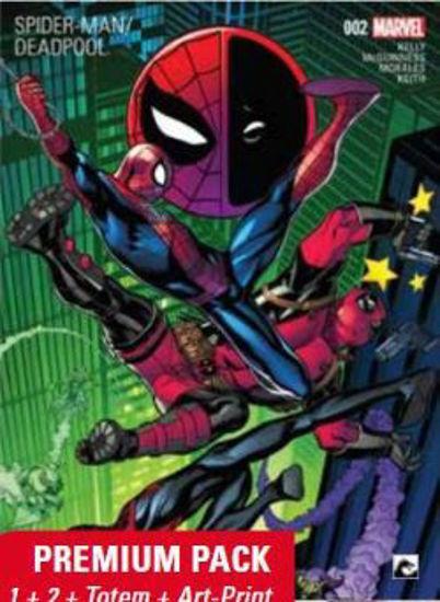 Afbeelding van Spiderman vs deadpool - Spiderman vs deadpool premiumpack 1+2 (DARK DRAGON BOOKS, zachte kaft)