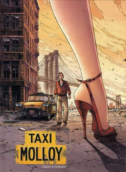 Afbeelding van Taxi molloy - Taxi molloy- actie 40 jaar de striep !! (SAGA, harde kaft)