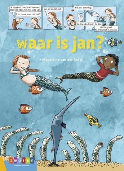 Afbeelding van Avi strip - Waar is jan? (ZWIJSEN, harde kaft)