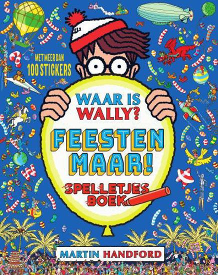 Afbeelding van Waar is wally - Waar is wally? feesten maar - spelletjesboek (STANDAARD, zachte kaft)