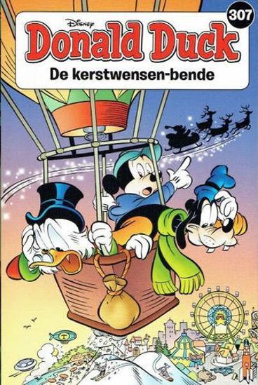 Afbeelding van Donald duck pocket #307 - Kerstwensen-bende (SANOMA, zachte kaft)
