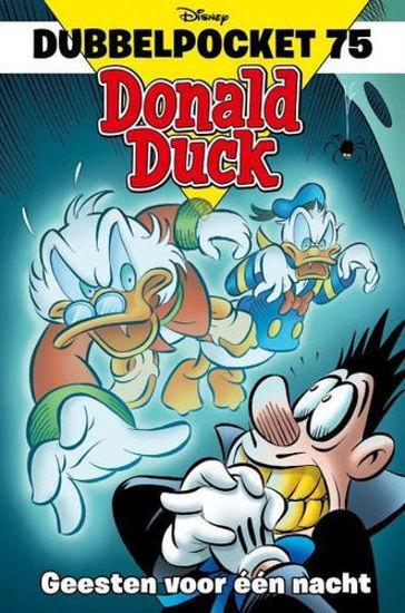 Afbeelding van Donald duck dubbelpocket #75 - Geesten voor een nacht (SANOMA, zachte kaft)