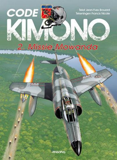 Afbeelding van Code kimono #2 - Missie mowanda (ARBORIS, harde kaft)