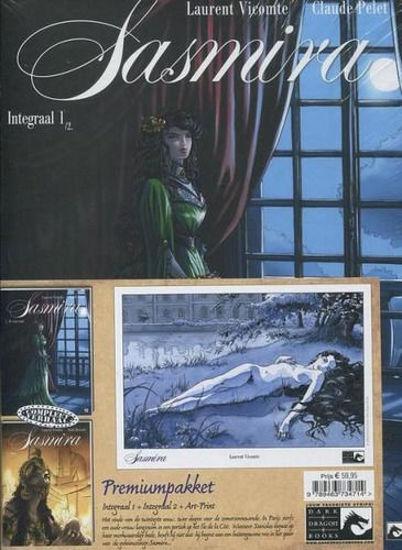 Afbeelding van Sasmira - Sasmira integraal 1&2 premiumpack met artprint en totem (DARK DRAGON BOOKS, harde kaft)