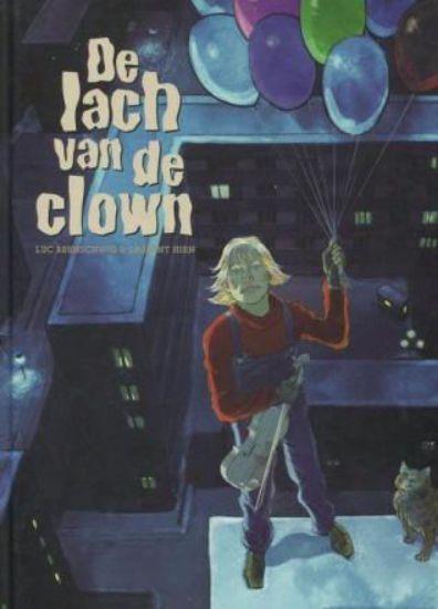 Afbeelding van Lach van de clown - Lach van de clown- actie 40 jaar de striep !! (SAGA, harde kaft)