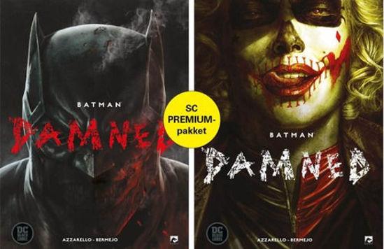 Afbeelding van Batman damned - Damned premiumpack 1+2+ totem + art print (DARK DRAGON BOOKS, zachte kaft)