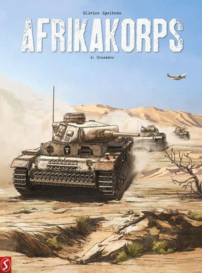 Afbeelding van Afrikakorps #2 - Crusader limited edition (SILVESTER, harde kaft)