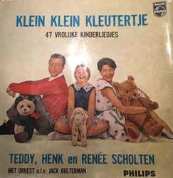 Afbeeldingen van Klein klein kleutertje - Lp-47 vrolijke kinderliedjes