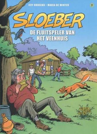 Afbeelding van Sloeber #7 - Fluitspeler van veenhuis (SAGA, zachte kaft)