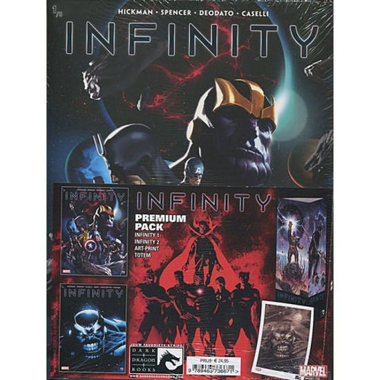 Afbeelding van Avengers infinity - Infinty premiumpack 1+2 (DARK DRAGON BOOKS, zachte kaft)