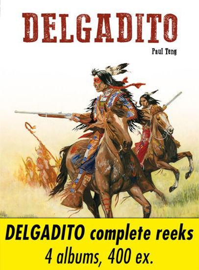 Afbeelding van Delgadito - Delgadito collector's pack hc 1-4 (BD MUST, harde kaft)