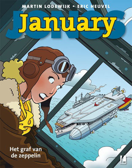 Afbeelding van January jones #6 - Graf van de zeppelin (LUITINGH, zachte kaft)