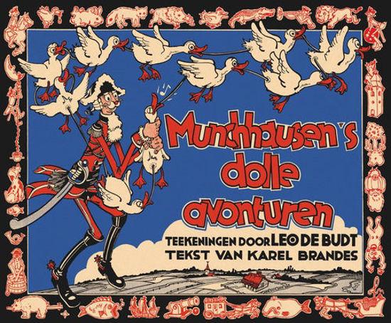 Afbeelding van Munchhausen's dolle avonturen (BONTE, zachte kaft)