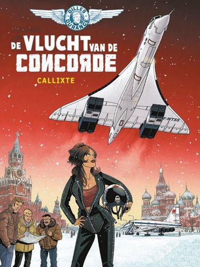 Afbeelding van Gilles durance #3 - Vlucht van de concorde (HUM, zachte kaft)