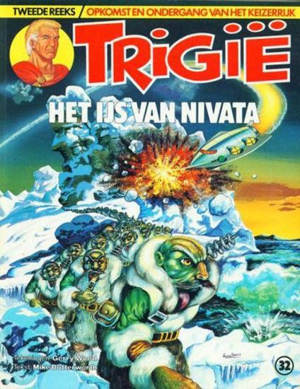 Afbeelding van Trigie #32 - Het ijs van nivata (OBERON, zachte kaft)