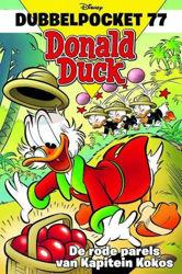 Afbeeldingen van Donald duck dubbelpocket #77 - Rode aprels van kapitein kokos