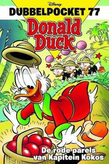 Afbeelding van Donald duck dubbelpocket #77 - Rode aprels van kapitein kokos (SANOMA, zachte kaft)