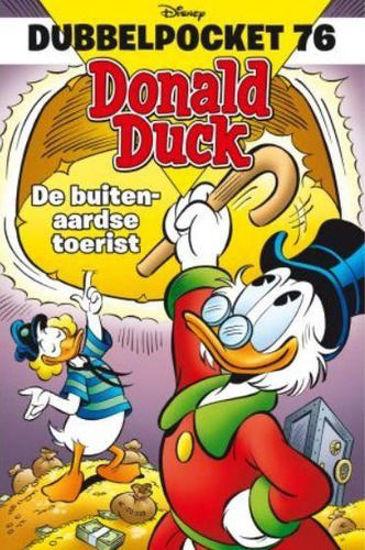 Afbeelding van Donald duck dubbelpocket #76 - Buitenaardse toerist (SANOMA, zachte kaft)