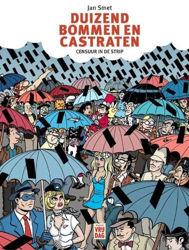 Afbeeldingen van Duizend bommen en castraten - Duizend bommen en castraten - censuur in de strip (VRIJDAG, harde kaft)