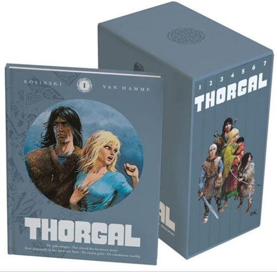 Afbeelding van Thorgal - Alles van thorgal getekend door rosinski (LOMBARD, harde kaft)