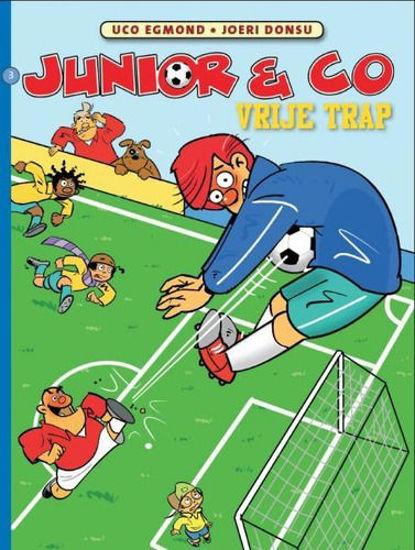 Afbeelding van Junior & co pakket 1-4 (STRIP 2000, zachte kaft)