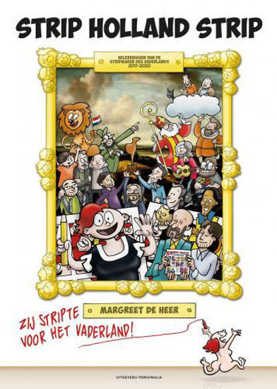 Afbeelding van Strip holland strip (PERSONALIA, zachte kaft)