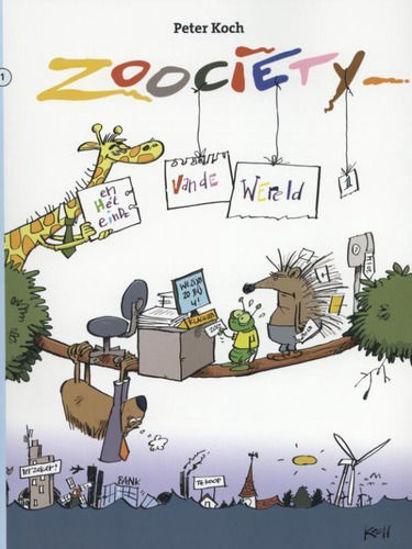 Afbeelding van Zoociety pakket 1+2 (STRIP 2000, zachte kaft)