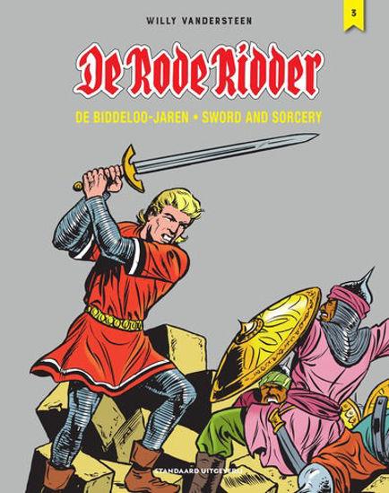 Afbeelding van Rode ridder #3 - Biddeloo jaren sword and sorcery 3 (STANDAARD, harde kaft)