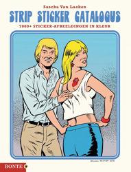 Afbeeldingen van Strip sticker catalogus