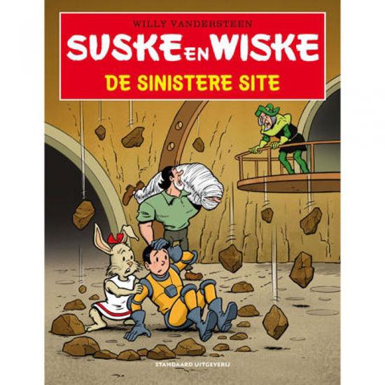 Afbeelding van Suske en wiske tros kompas #14 - Sinistere site (STANDAARD, zachte kaft)