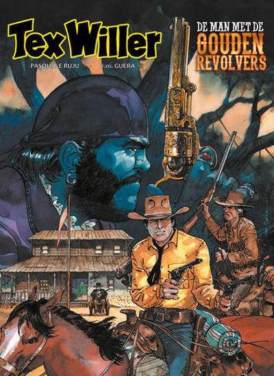 Afbeelding van Tex willer #8 - Man met de gouden revolvers (HUM, zachte kaft)