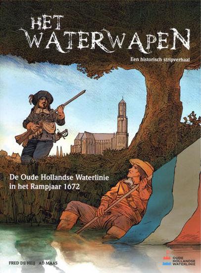 Afbeelding van Waterwapen (OUDE HOLLANDSE WATERLINIE, harde kaft)