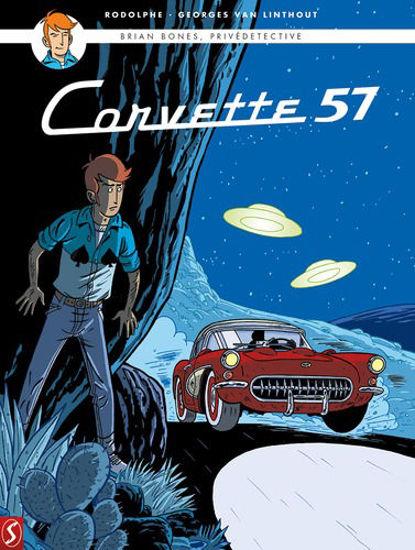 Afbeelding van Brian bones privedetective #3 - Corvette 57 (SILVESTER, zachte kaft)