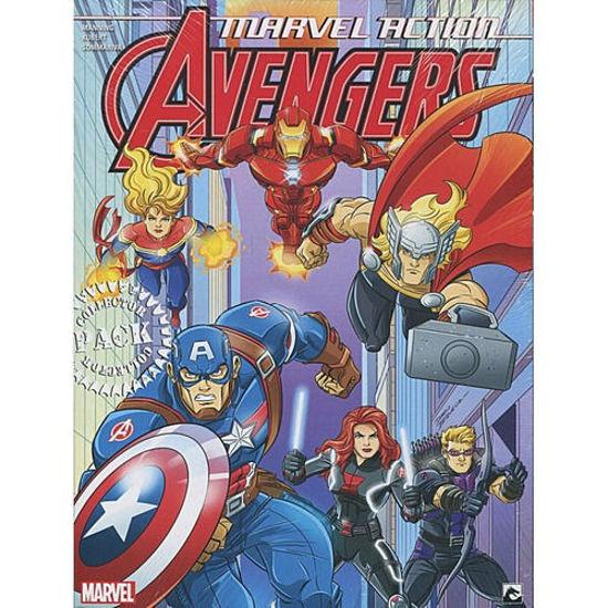 Afbeelding van Marvel action - Marvel action avengers collectorspack 1-3 (DARK DRAGON BOOKS, zachte kaft)