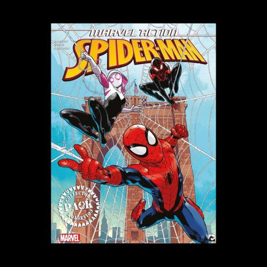 Afbeelding van Marvel action - Marvel action spiderman collectorspack 1-3 (DARK DRAGON BOOKS, zachte kaft)