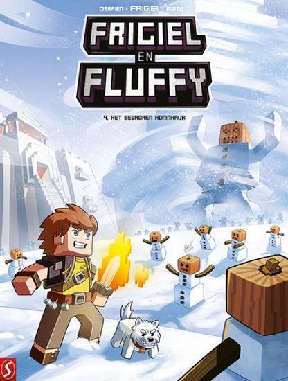 Afbeelding van Frigiel en fluffy #4 - Bevroren koninkrijk (SILVESTER, zachte kaft)