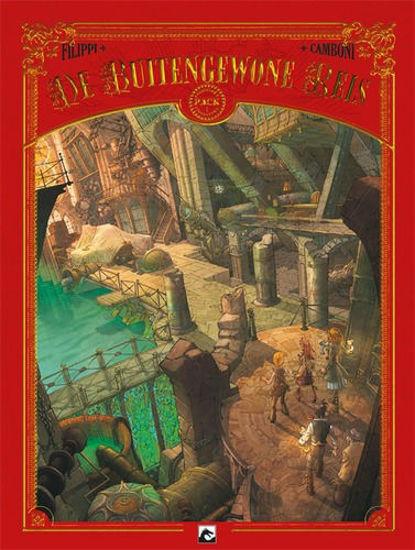 Afbeelding van Buitengewone reis - Buitengewone reis collector's pack 1-3 (DARK DRAGON BOOKS, zachte kaft)