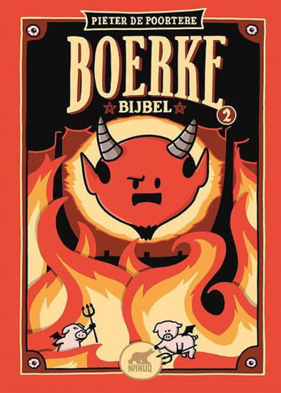 Afbeelding van Boerke - Boerke de bijbel 2 (NANUQ, harde kaft)