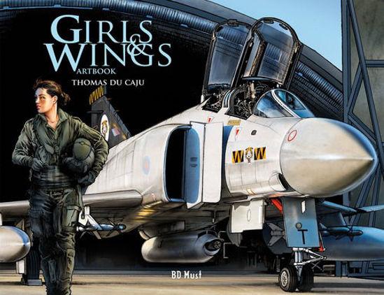Afbeelding van Girls and wings - Girls and wings artbook (BD MUST, harde kaft)